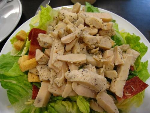 Caesar Salad w Roast Chicken @ McCafe.JPG