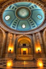 Manitoba Legislative Building Dome (bryanscott) Tags: city building architecture winnipeg parliament manitoba capitol dome hdr legislative excapture bxk