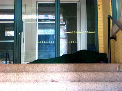 20-365  1/20/08 - Stairway Sleeper