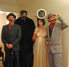 Edward Gorey group costumes