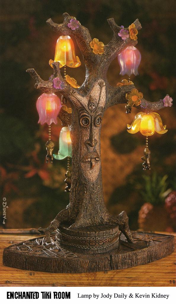Disneyland Enchanted Tiki Room Tangaroa Lamp