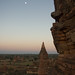 moon over Bagan 3