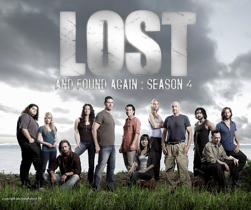 Lost Temporada 4 poster