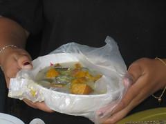 Soup (juanaungier) Tags: food soup market coconut eating philippines stall cebu filipino waitress pinoy filipinos whitebeach moalboal saavedra visaya visayan basdako proudlypinoy