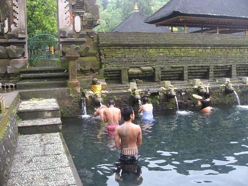Hindu temple in northern Bali