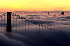Rolling Fog (A Sutanto) Tags: sf sanfrancisco california ca city morning bridge urban usa fog skyline america sunrise foggy goldengatebridge goldengate silhoutte ggb flickrsbest abigfave platinumphoto anawesomeshot superaplus aplusphoto superbmasterpiece diamondclassphotographer flickrdiamond theunforgettablepictures betterthangood