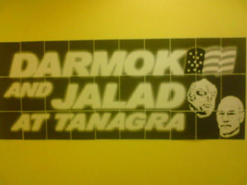 Poster: Darmok and Jalad at Tanagra