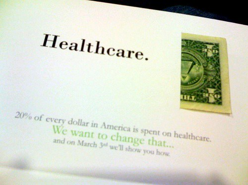 20% of Every Dollar is Spent on Healthcare