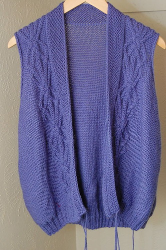 Mom's Cabled Cardigan