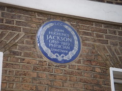 Photo of John Hughlings Jackson blue plaque