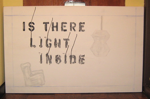 IS THERE LIGHT INSIDE