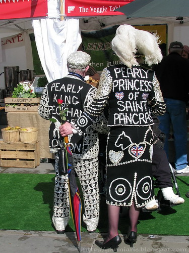 Pearly king and princess