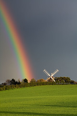 The Skittles Factory (. Andrew Dunn .) Tags: uk cambridge england windmill landscape spring rainbow cambridgeshire eastanglia interestingness6 fulbourn i500 challengeyouwinner