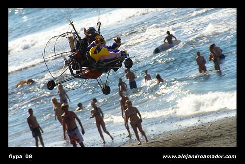 IV Festival Internacional de Parapente de Los Realejos – FLYPA'08 - 35 por Alejandro Amador.