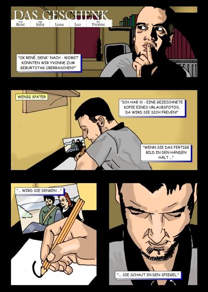 Comic Seite 1