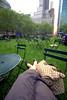 [366.0??] FUTAB @ BP (heidiologies) Tags: nyc newyork bryantpark 366days futab feetuptakeabreak
