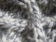 macro cable in rowan big wool