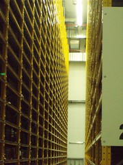 Magasins de grande hauteur (marlenedd) Tags: bnf ctl bibliothequenationaledefrance centretechniquedulivre