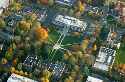 Oregon State University by air
