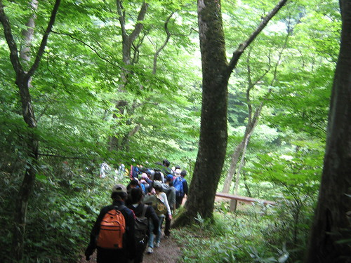 Hiking in Nasu