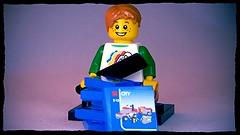 Too much Lego Brick Yourself Custom Lego Figure