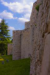 Murallas del castillo de Burgos (Vctor Alonso) Tags: burgos castillo murallas