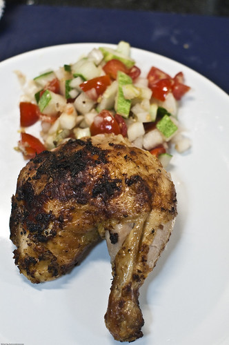 Grilled Sambal Oelek Chicken With Pico de Gallo