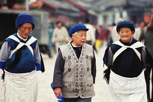 Lijiang-Naxi women