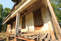 Back Porch (Black.Doll) Tags: brick abandoned alabama plantation tinroof blackbelt greekrevival 1845 dallascounty elmbluff silentintheland blackbeltofalabama