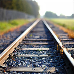 Rail III (Ulf Bodin) Tags: rail uppsala canonef85mmf12liiusm räls canoneos5dmarkii boktryckarparken