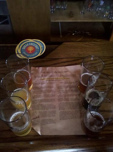 beer tasting @ Urban Chestnut