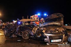 Schwerer Unfall A66 Wiesb. Kreuz 02.06.11
