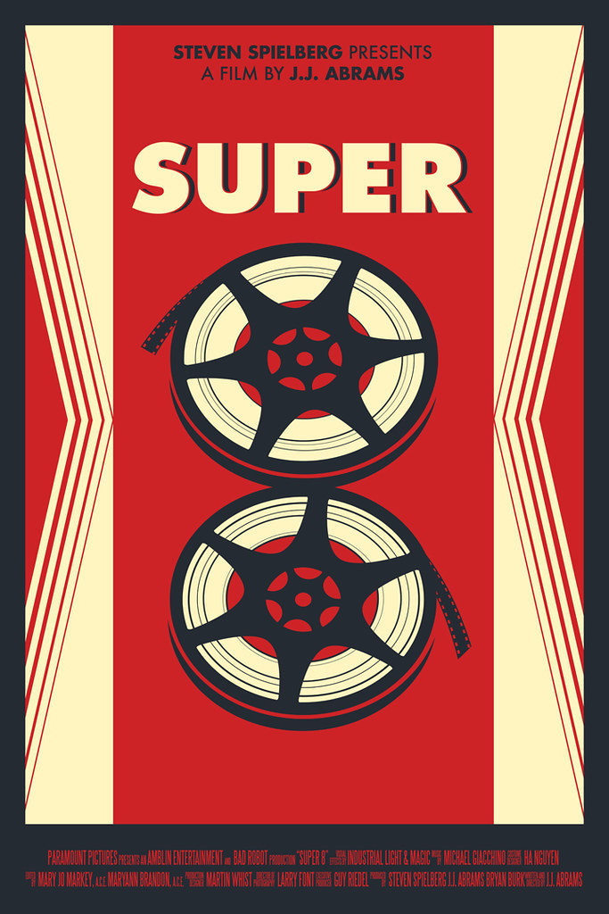 SUPER 8 POSTER by JASON CRYER