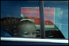 Baby in limousine, 10th Ave.