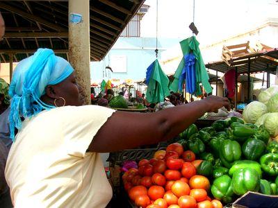 mercado, cabo verde