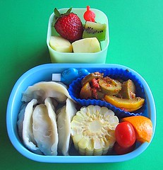 Gyoza lunch for preschooler