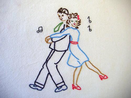 Jitterbug Dancers
