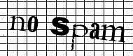 no spam CAPTCHA image