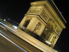 Arco del Triunfo (hypnofrog) Tags: paris francia arcdetriomphe exposicion arcodeltriunfo