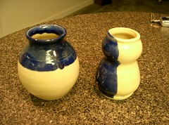 Vases 3 and 2