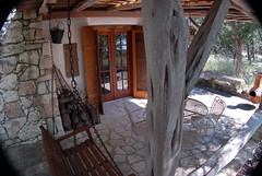 Patio (Gary Zuker) Tags: house straw patio cob