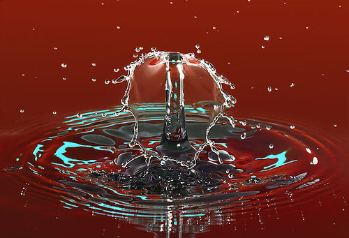 A magia d'água