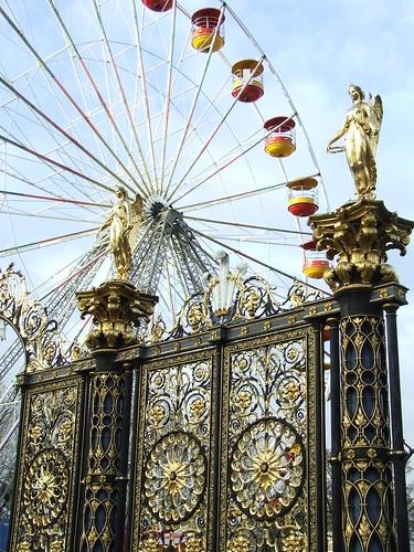 Ferris Wheel & Golden Angels