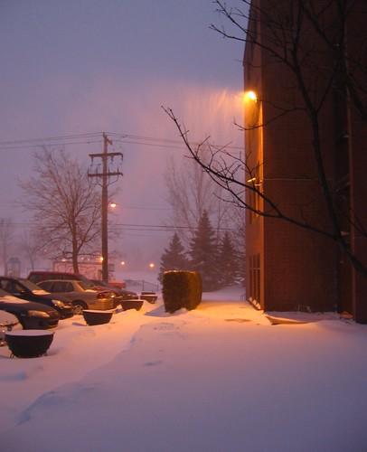 dawn during a lull by greenhem