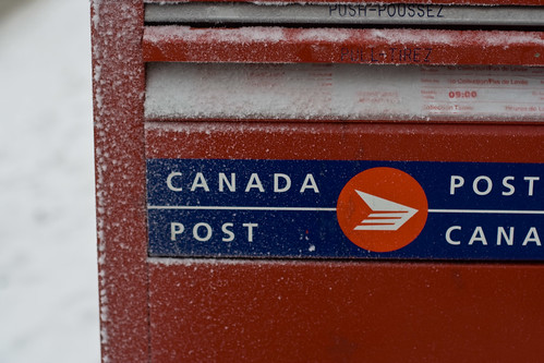 Canada+post