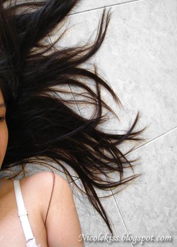hair on floor
