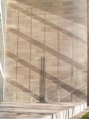 "Harry Bertoia's 1977 ""Tonal Sculpture"" & Window Reflections On The National Gallery Of Art South Terrace (Washington, DC) (takomabibelot) Tags: reflection window wall bronze geotagged washingtondc dc copper 1977 kineticsculpture nationalgalleryofart impei eastbuilding harrybertoia beryllium sonambient southterrace tonalsculpture geo:lat=38890966 geo:lon=7701659"