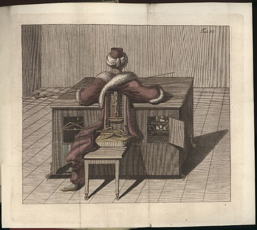Kempelen's chess-playing hoax automaton