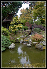 Japanese Garden 45 (slavag) Tags: sanfrancisco california park old usa color tree green water beauty rock stone yard garden japanese waterfall flora rocks quiet stones lawn tranquility calm oriental orient peacefulness calmness 28092007 imperturbability