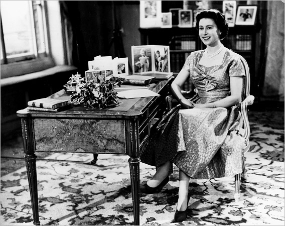 Her Majesty's 1st Televised Christmas Broadcast, 1957